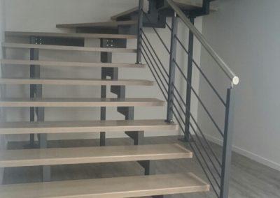 escalier crémaillère sur mesure