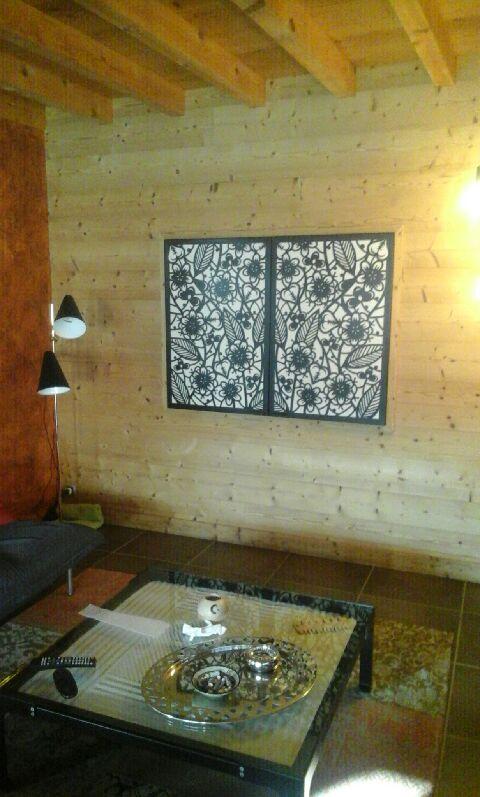 habiller des portes de placard avec des panneaux d coratifs en m tal your steel. Black Bedroom Furniture Sets. Home Design Ideas